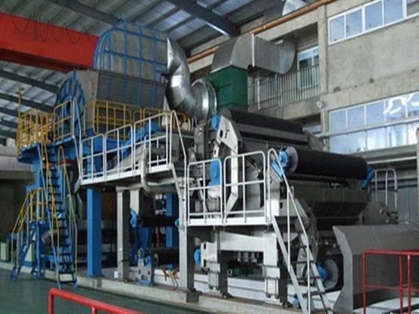 Tissue Paper Machine - Paper-making machine-PRODUCT - QINYANG